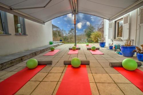 Unser neuer Außen-Trainingsraum
